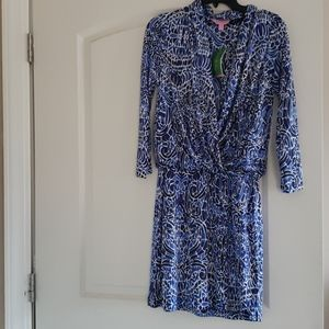 Lilly pulitzer Felizia silk dress